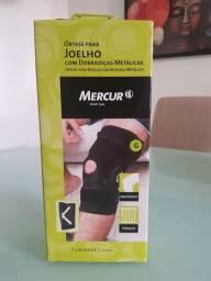Órtese para joelho com dobradiças metálicas (Mercur)