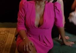 Vestido curto Rosa Pink Skazi