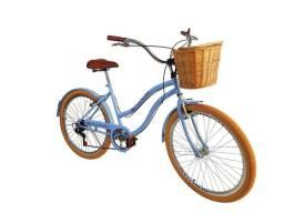 Bicicleta vintage retrô NOVA em até 12 x sem juros