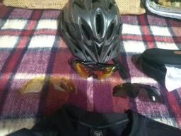 Equipamentos esportivo para bike