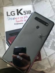 LG K51S 64GB e 4gb ram na caixa