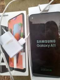 Samsung galaxy a11 pf chamar wpp na descrição