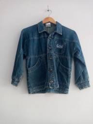 Jaqueta jeans feminino tam P
