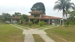 Linda Fazenda Auto-sustentável na AM-010 com Casa Sede de 478m2 (30 minutos da barreira)