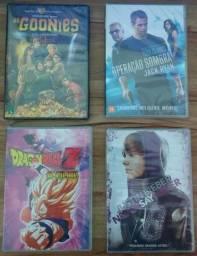 Kit DVD Filmes - Acompanha 6 Títulos - Novos, Originais e Lacrados