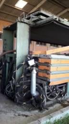 Maquina de Secar Couro a Vácuo Incoma Olverlay TM 4 - #3757