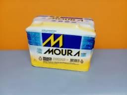 Bateria Moura 60ah nova 6x57,69 ou 12x 30,88