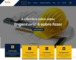 Site para sua empresa de Construção