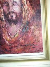 Quadro com pintura a óleo/ Diniz 1977