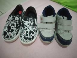 Vendo dois sapatos infantil