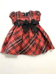 Vestido vermelho preto