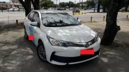 Taxi corolla com praça transferivél - 2018