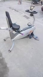 Bicicleta ergométrica horizontal evolution fitness entrega grátis