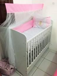 Berço mini cama completo