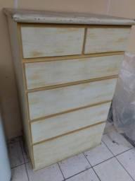 Comoda/gaveteiro 80x60cm 1,35 altura