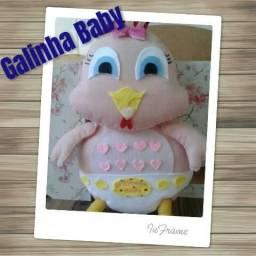 Galinha Baby em feltro