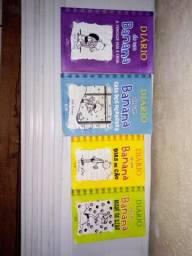 Kit de livros - Diário de um banana