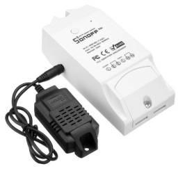 Sonoff TH10 - Interruptor com medição de temperatura e umidade para Casa Inteligente
