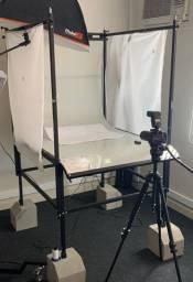 Mesa para foto de produto