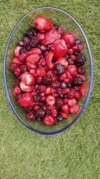 Mix de frutas vermelhas congeladas