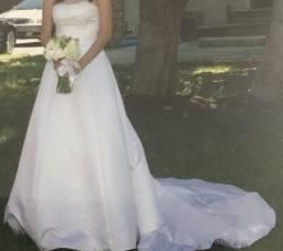 Vestido noiva 38/40 clássico