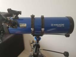 Telescópio Meade Polaris 130 EQ Profissional o melhor do mundo