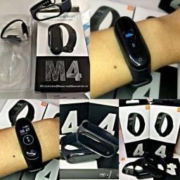 Smartwhatc relógio inteligente m4 com entrega grátis