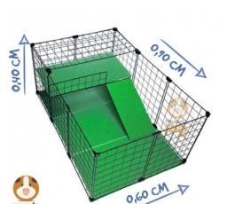 Cercado e acessórios para roedores