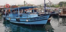 Barco de passeio 35 passageiros
