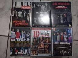 DVDs e Álbuns One Direction (em ótimo estado)