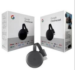 Google Chromecast 3 novo com garantia