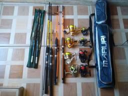 Equipamento pesca