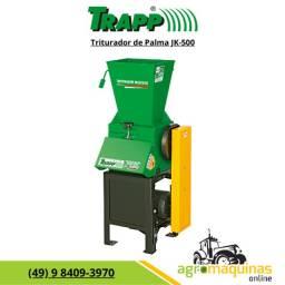 Promoção Triturador Trapp JK-500 sem Motor - Tritura Palma - Agromaquinas Online