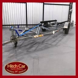 Reboque carretinha para barco de 5m - Hitch Car