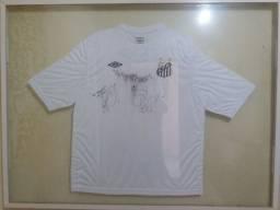 Camisa Autografada Santos