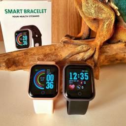 Relógio Inteligente Smartwatch B57- Modelo Y68 FItPro - A Pronta Entrega