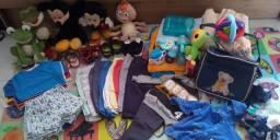 Lote roupas bebê menino.