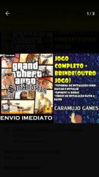 Grand Theft Auto: San Andreas Pc - Mídia Digital