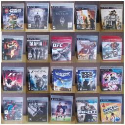 Kit 20 jogos PS3 originais - Analiso trocas pelo lote