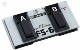 Pedal Boss FS-6 Footswitch 2 em 1 - Novo!