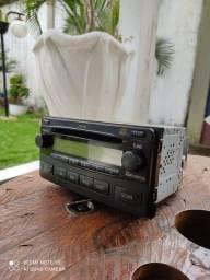 Rádio CD Toyota Original uma Raridade
