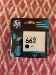 Cartucho de tinta preto Original HP 662