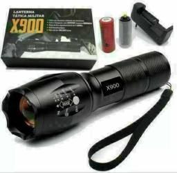 (PROMOÇÃO) Lanterna tática Militar X900 ENTREGA GRÁTIS