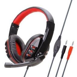 Fone de ouvido gamer Headphone P2 Soyto SY733MV