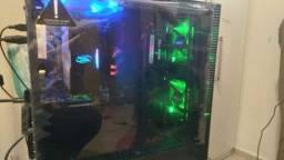 Xeon 2620 V3+16 gb+ssd 256+Hd 1T+huananzhi x99 f8+Radeon Rx 550
