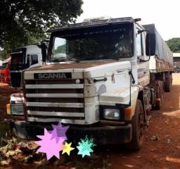 Scania 113 H 360 4×2 ( Truck Randon) Ano 94 e Carreta Randon LS Ano 96