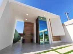 CA1042 - Casas planas, novas, com fino acabamento em condomínio fechado.