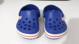 Crocs azul original - Tam 18/19