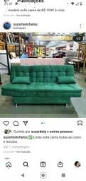 Sofá cama de fábrica em todas as cores!!