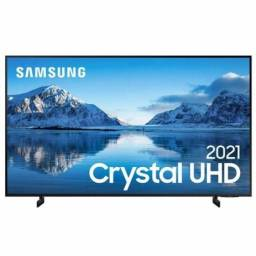 <br>Smart TV 50 Polegadas Crystal UHD 4K 50AU8000 Slim Samsung<br><br>
